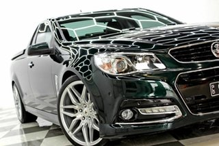 2013 Holden Ute VF SS-V Green 6 Speed Automatic Utility.