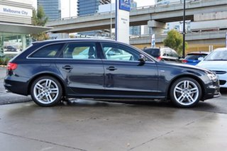 2013 Audi A4 B8 8K MY13 Avant S Tronic Quattro Grey Blue 7 Speed Sports Automatic Dual Clutch Wagon