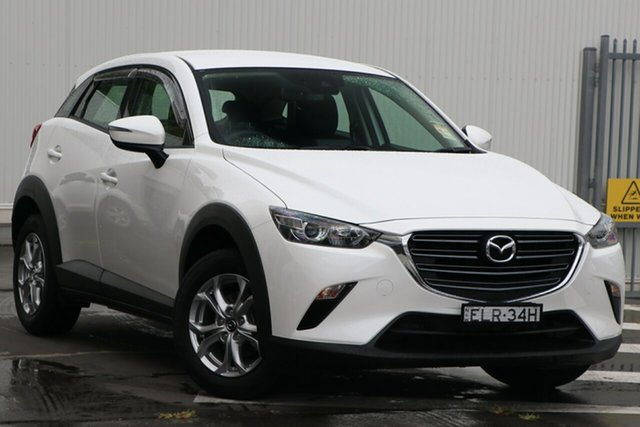Demo Mazda CX-3 DK2W7A Maxx SKYACTIV-Drive FWD Sport Wollongong, 2020 Mazda CX-3 DK2W7A Maxx SKYACTIV-Drive FWD Sport Snowflake White Pearl 6 Speed Sports Automatic