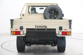 2020 Toyota Landcruiser VDJ79R GXL Beige 5 Speed Manual Cab Chassis