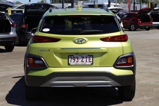 2019 Hyundai Kona OS.3 MY20 Elite 2WD Acid Yellow 6 Speed Sports Automatic Wagon