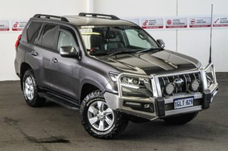 2017 Toyota Landcruiser Prado GDJ150R GXL Graphite 6 Speed Sports Automatic Wagon.