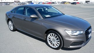 2014 Audi A6 4G MY14 Multitronic Grey 1 Speed Constant Variable Sedan.