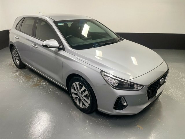 Used Hyundai i30 PD2 MY19 Active Hamilton, 2019 Hyundai i30 PD2 MY19 Active Silver 6 Speed Sports Automatic Hatchback
