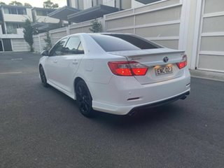 2016 Toyota Aurion GSV50R Sportivo White 6 Speed Sports Automatic Sedan