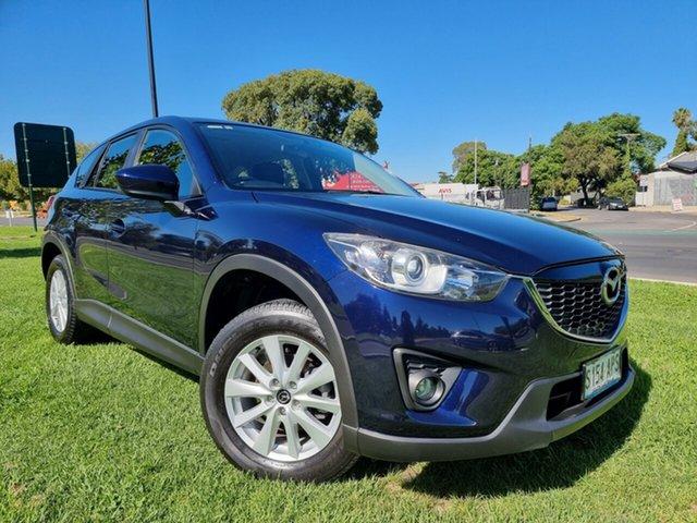 Used Mazda CX-5 KE1071 Maxx SKYACTIV-Drive AWD Sport Hindmarsh, 2012 Mazda CX-5 KE1071 Maxx SKYACTIV-Drive AWD Sport Stormy Blue/black Cloth 6 Speed