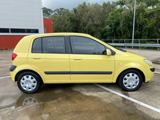 2007 Hyundai Getz TB Upgrade 1.6 Yellow 5 Speed Manual Hatchback.