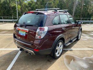 2013 Holden Captiva CG MY13 7 LX (4x4) Maroon 6 Speed Automatic Wagon.