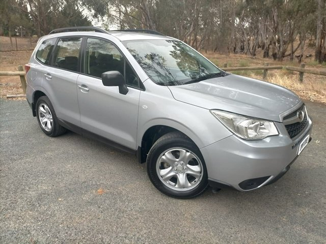 Used Subaru Forester S4 MY13 2.5i Lineartronic AWD Echuca, 2013 Subaru Forester S4 MY13 2.5i Lineartronic AWD Silver 6 Speed Constant Variable Wagon