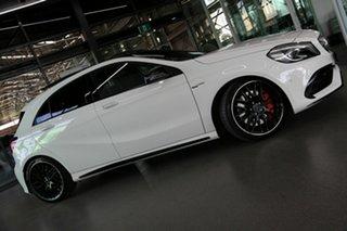 2016 Mercedes-Benz A-Class W176 806MY A45 AMG SPEEDSHIFT DCT 4MATIC White 7 Speed.
