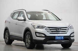 2013 Hyundai Santa Fe DM MY14 Active Silver 6 Speed Manual Wagon
