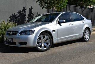 2010 Holden Commodore VE MY10 Omega Silver 4 Speed Automatic Sedan.