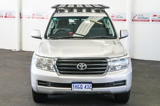 2011 Toyota Landcruiser VDJ200R 09 Upgrade GXL (4x4) Silver Pearl 6 Speed Automatic Wagon.