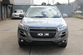 2014 Peugeot 4008 Active (4x4) Grey 6 Speed CVT Auto Sequential Wagon.