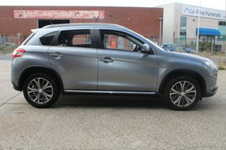 2014 Peugeot 4008 Active (4x4) Grey 6 Speed CVT Auto Sequential Wagon