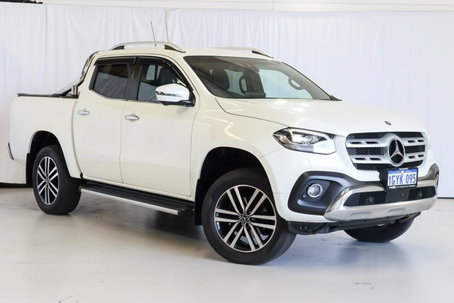 Used Mercedes-Benz X-Class 470 X250d 4MATIC Power Wangara, 2018 Mercedes-Benz X-Class 470 X250d 4MATIC Power White 6 Speed Manual Utility