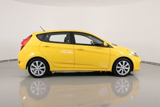 2017 Hyundai Accent RB5 Sport Yellow 6 Speed Automatic Hatchback