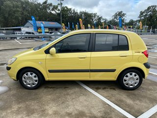 2007 Hyundai Getz TB Upgrade 1.6 Yellow 5 Speed Manual Hatchback