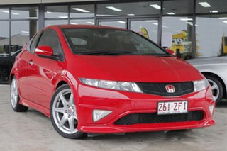2009 Honda Civic 8th Gen MY09 Type R Milano Red/matching 6 Speed Manual Hatchback.