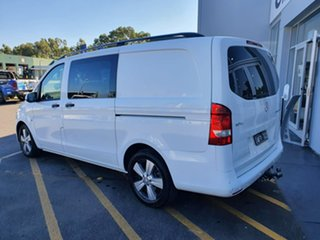 2015 Mercedes-Benz Vito 447 119BlueTEC Crew Cab 7G-Tronic + White 7 Speed Sports Automatic Van