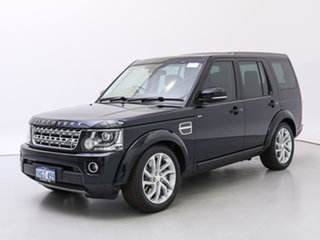 2014 Land Rover Discovery MY14 3.0 SDV6 HSE Mariana Black Pearl 8 Speed Automatic Wagon.