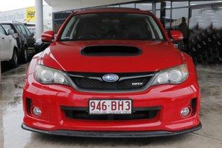 2010 Subaru Impreza G3 MY11 WRX AWD Lightning Red 5 Speed Manual Sedan