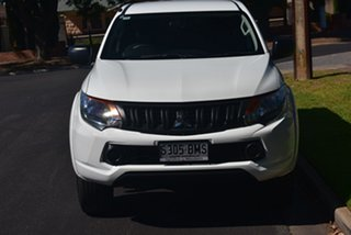 2016 Mitsubishi Triton MQ MY16 GLX+ Double Cab White 6 Speed Manual Utility.