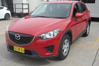 2012 Mazda CX-5 KE1071 Maxx SKYACTIV-Drive Red 6 Speed Sports Automatic Wagon.