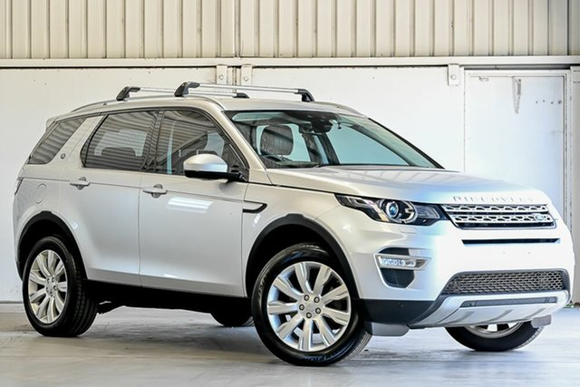 Used Land Rover Discovery Sport L550 16.5MY HSE Luxury Laverton North, 2016 Land Rover Discovery Sport L550 16.5MY HSE Luxury Silver 9 Speed Sports Automatic Wagon