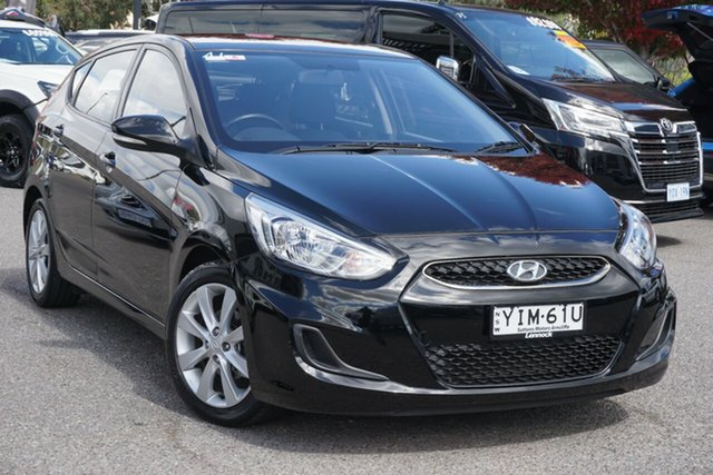 Used Hyundai Accent RB5 MY17 Sport Phillip, 2017 Hyundai Accent RB5 MY17 Sport Black 6 Speed Sports Automatic Hatchback