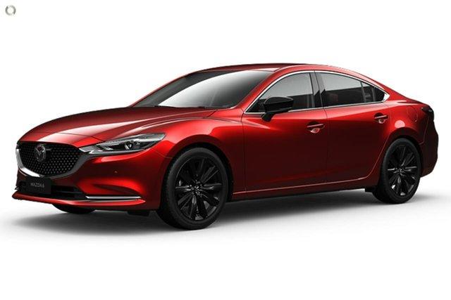 New Mazda 6 GL1033 GT SP SKYACTIV-Drive Waitara, 2021 Mazda 6 GL1033 GT SP SKYACTIV-Drive Red 6 Speed Sports Automatic Sedan