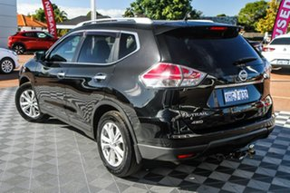 2014 Nissan X-Trail T32 ST-L X-tronic 4WD Black 7 Speed Constant Variable Wagon.