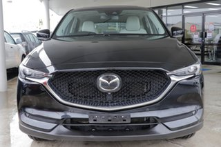 2018 Mazda CX-5 KF4WLA Akera SKYACTIV-Drive i-ACTIV AWD Black/White 6 Speed Sports Automatic Wagon