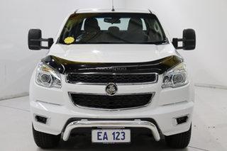 2016 Holden Colorado RG MY16 LTZ Crew Cab 4x2 White 6 Speed Sports Automatic Utility.
