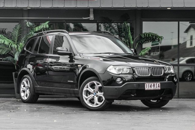 Used BMW X3 E83 MY10 xDrive20d Steptronic Lifestyle Bowen Hills, 2010 BMW X3 E83 MY10 xDrive20d Steptronic Lifestyle Black 6 Speed Automatic Wagon
