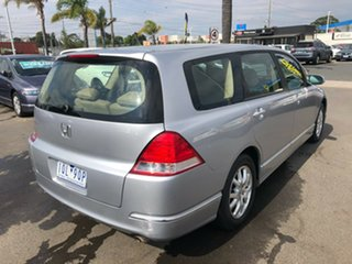 2005 Honda Odyssey 20 Luxury Silver 5 Speed Sequential Auto Wagon