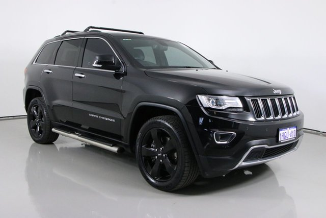 Used Jeep Grand Cherokee WK MY14 Limited (4x4) Bentley, 2014 Jeep Grand Cherokee WK MY14 Limited (4x4) Black 8 Speed Automatic Wagon