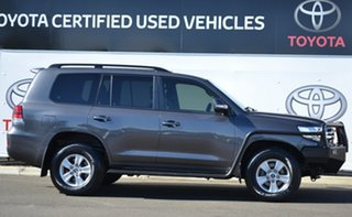 2017 Toyota Landcruiser VDJ200R MY16 GXL (4x4) Graphite 6 Speed Automatic Wagon