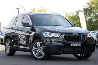 2019 BMW X1 F48 sDrive18d Steptronic Black 8 Speed Sports Automatic Wagon.