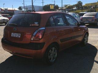 2006 Kia Rio JB Orange 5 Speed Manual Hatchback.