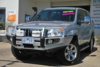 2005 Toyota Landcruiser Prado KZJ120R GXL (4x4) Silver 4 Speed Automatic Wagon.