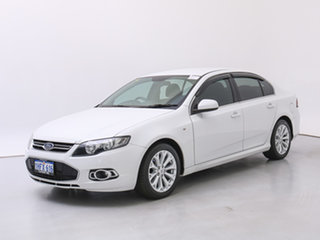 2012 Ford Falcon FG MK2 XT Ecoboost White 6 Speed Automatic Sedan.