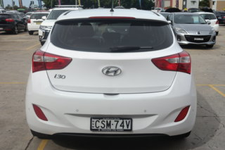 2014 Hyundai i30 GD MY14 Elite White 6 Speed Manual Hatchback