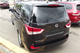 2014 Ssangyong Stavic A100 MY14 Black 5 Speed Sports Automatic Wagon.