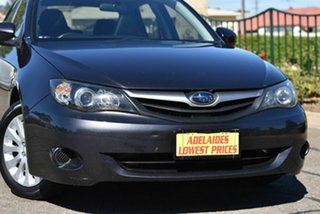 2011 Subaru Impreza G3 MY11 R AWD Grey 4 Speed Sports Automatic Sedan