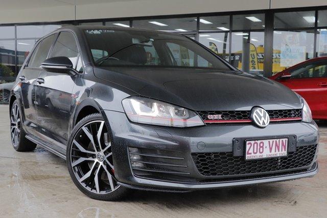 Used Volkswagen Golf VII MY15 GTI DSG Performance Rocklea, 2015 Volkswagen Golf VII MY15 GTI DSG Performance Carbon Steel Grey 6 Speed