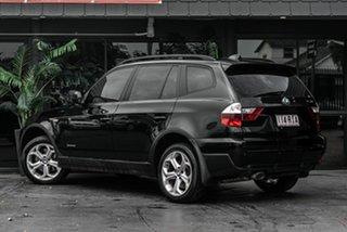 2010 BMW X3 E83 MY10 xDrive20d Steptronic Lifestyle Black 6 Speed Automatic Wagon.