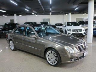 2008 Mercedes-Benz E-Class W211 MY08 E500 Avantgarde Indium Grey 7 Speed Sports Automatic Sedan.