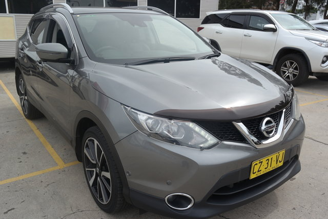 Used Nissan Qashqai J11 TI Maryville, 2015 Nissan Qashqai J11 TI Grey 1 Speed Constant Variable Wagon