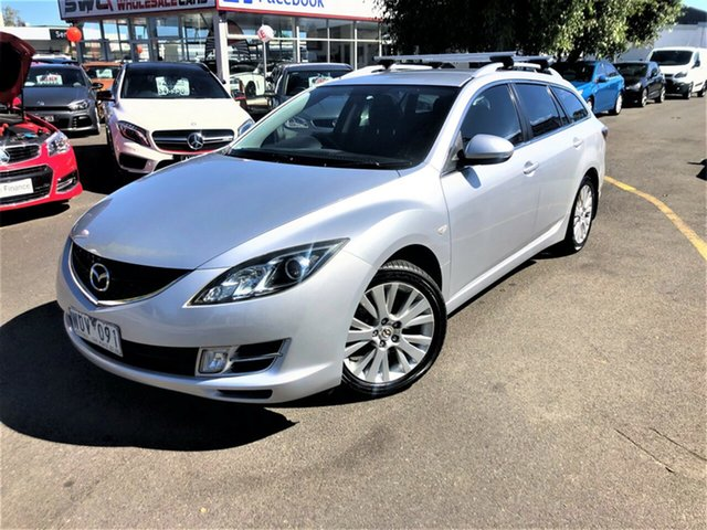 Used Mazda 6 GH1051 Classic Seaford, 2008 Mazda 6 GH1051 Classic Silver 5 Speed Sports Automatic Wagon